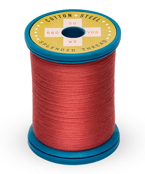 Cotton + Steel 50wt Thread by Sulky - Brick