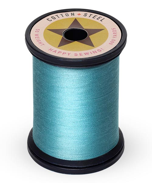 Cotton + Steel 50wt Thread by Sulky - Turquoise