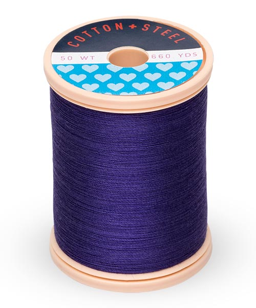Cotton + Steel 50wt Thread by Sulky - Royal Purple