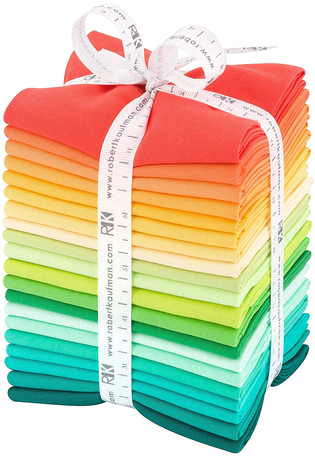 Kona Cotton Solids Fat Quarter Bundle - Darlene Zimmerman Curated - 20pcs