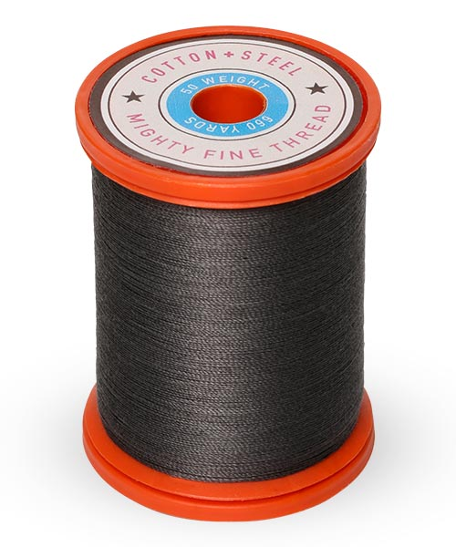 Cotton + Steel 50wt Thread by Sulky - Almost Black