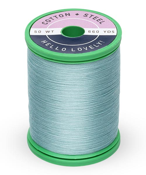Cotton + Steel 50wt Thread by Sulky - Pastel Jade