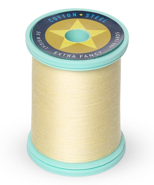 Cotton + Steel 50 wt Thread by Sulky - Pale Yellow