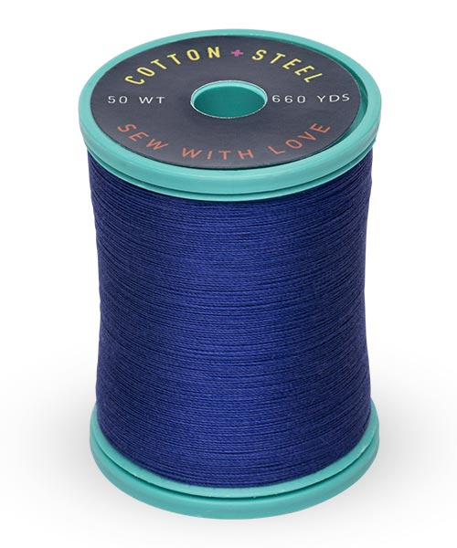Cotton + Steel 50wt Thread by Sulky - Deep Nassau Blue
