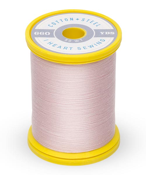 Cotton + Steel 50wt Thread by Sulky - Pastel Pink