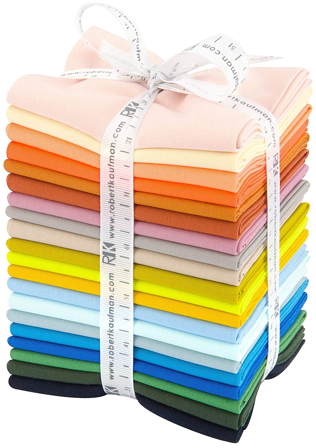 Kona Cotton Solid Fat Quarter Bundle - Carolyn Friedlander Curated 20pcs