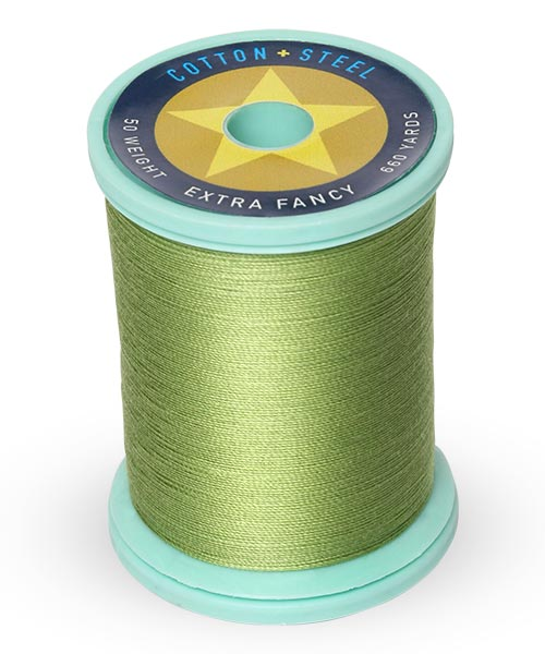Cotton + Steel 50wt Thread by Sulky - Avocado