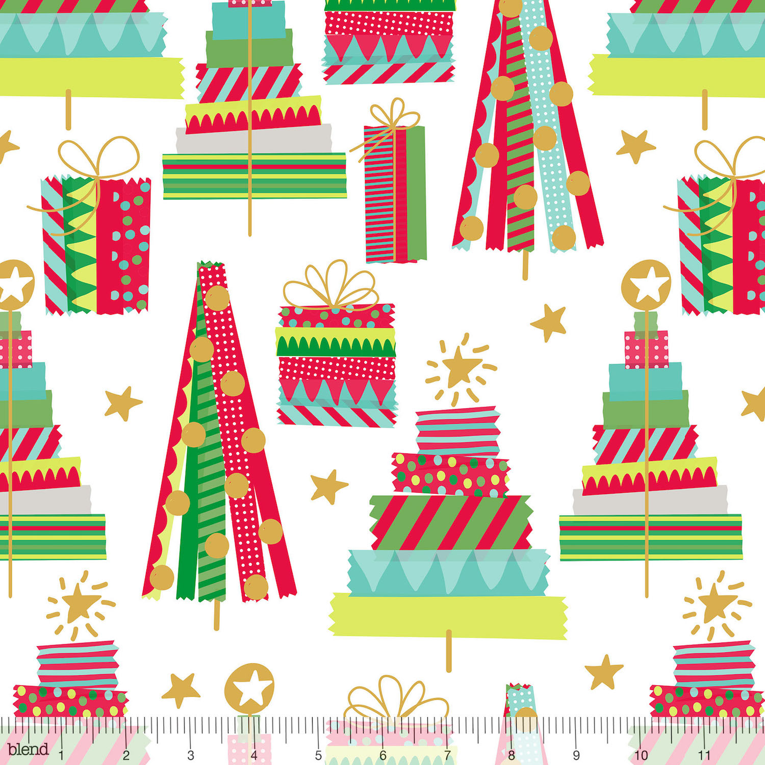 All is Bright - Holiday Washi White