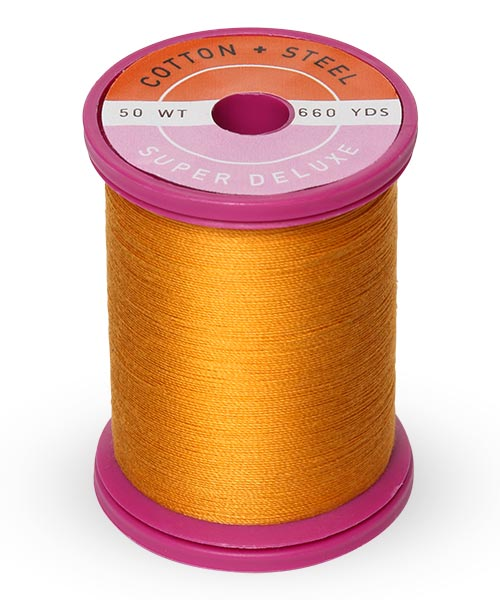 Cotton + Steel 50wt Thread by Sulky - Orange Sunrise