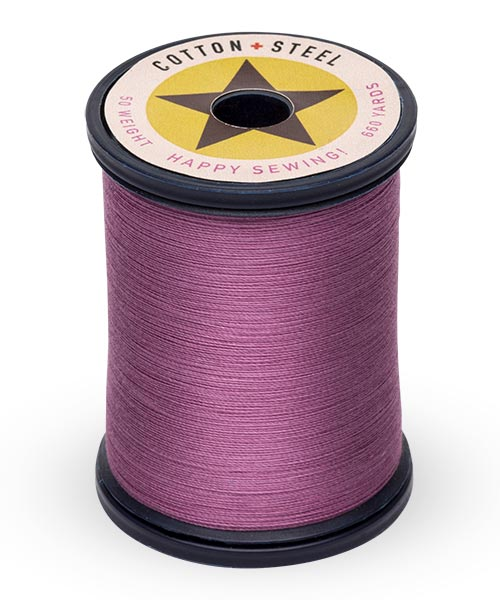 Cotton + Steel 50wt Thread by Sulky - Fuchsia