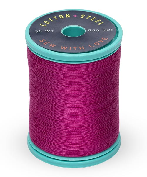 Cotton + Steel 50wt Thread by Sulky - Dark Rose