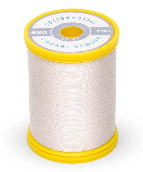 Cotton + Steel 50wt Thread by Sulky - Off White