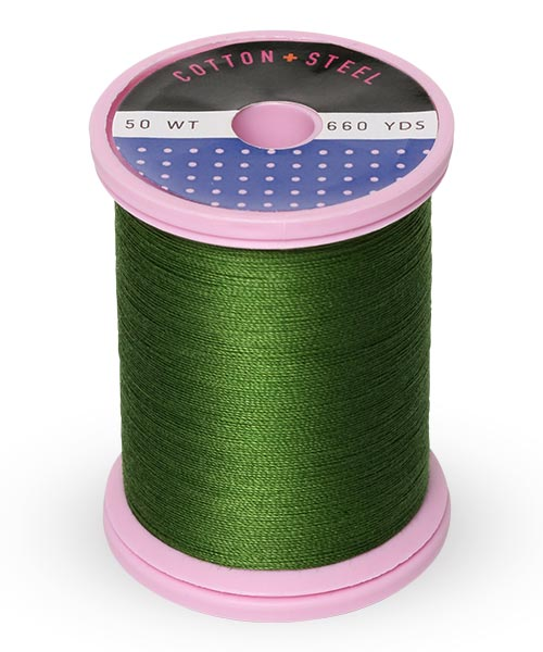 Cotton + Steel 50wt Thread by Sulky - Medium Dark Avocado