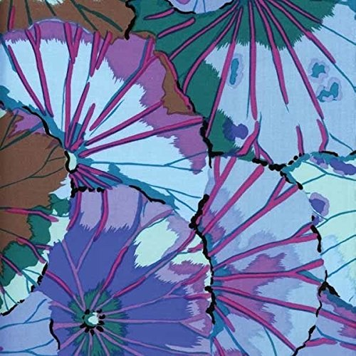 Lotus Leaf - Blue by Kaffe Fassett
