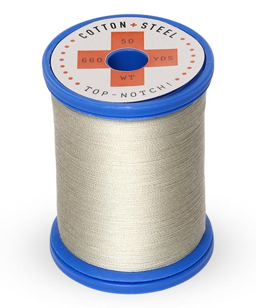 Cotton + Steel 50wt Thread by Sulky - Gray Khaki