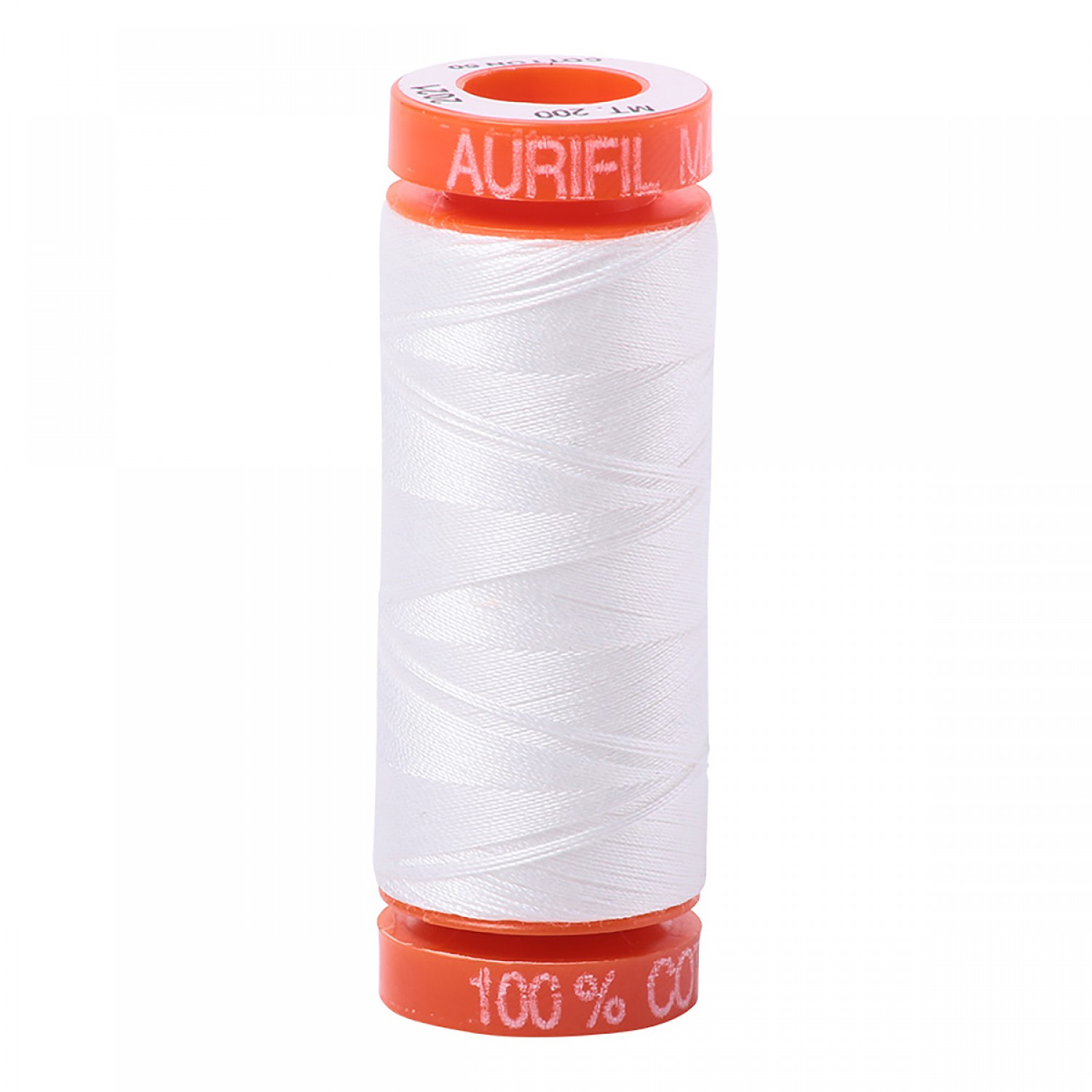 Aurifil Mako 50 wt Cotton Thread - 220 yds - Natural White (2021)