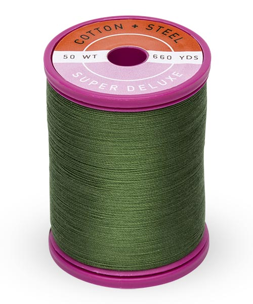 Cotton + Steel 50wt Thread by Sulky - Dark Avocado
