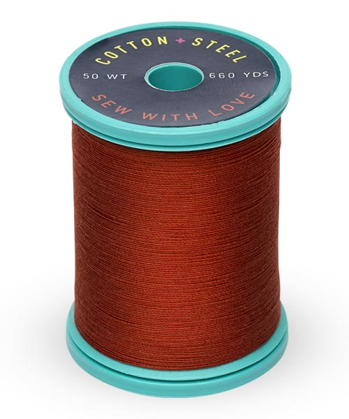 Cotton + Steel 50wt Thread by Sulky - Rust