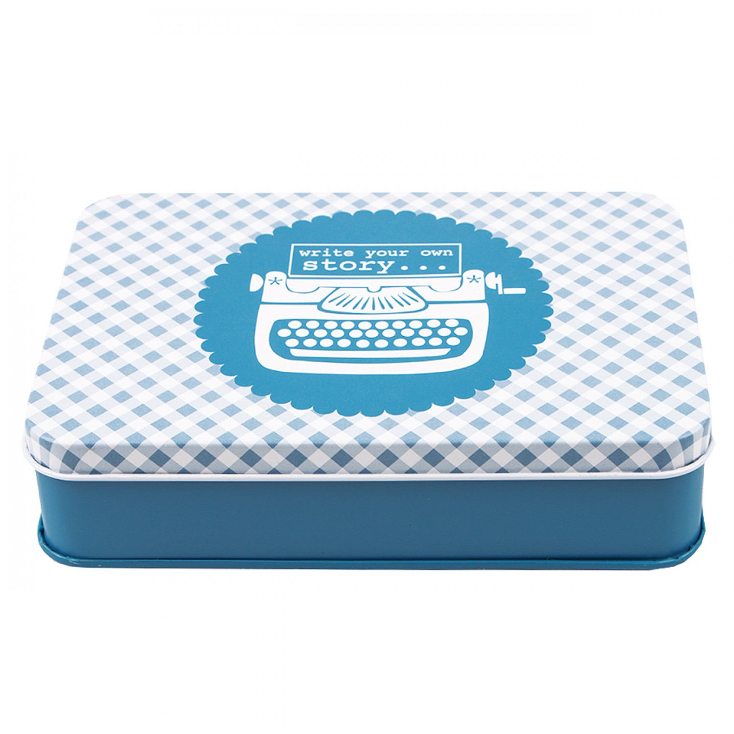 Bee In My Bonnet Sewing Tin - DENIM