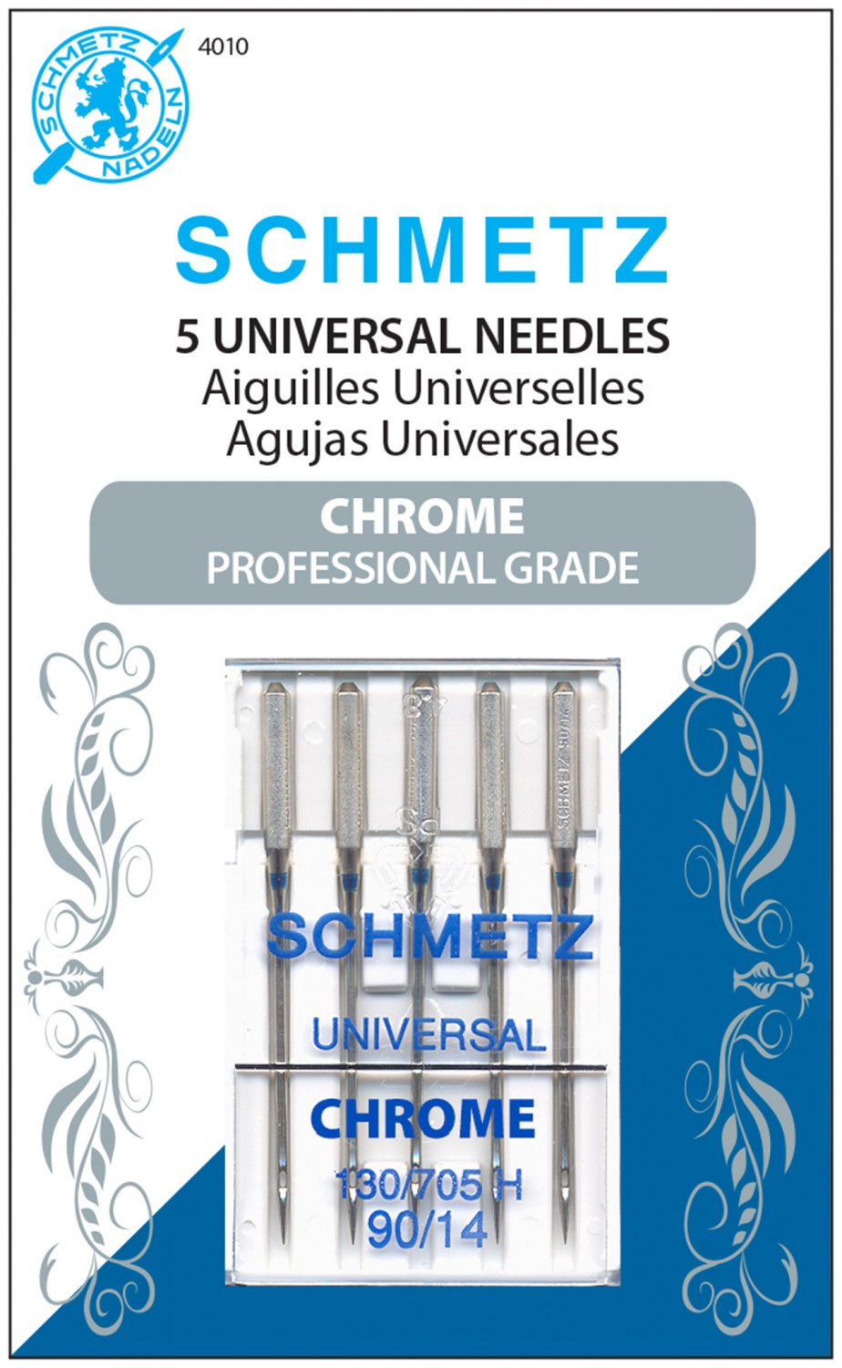 Schmetz Chrome Universal Needles - 90/14