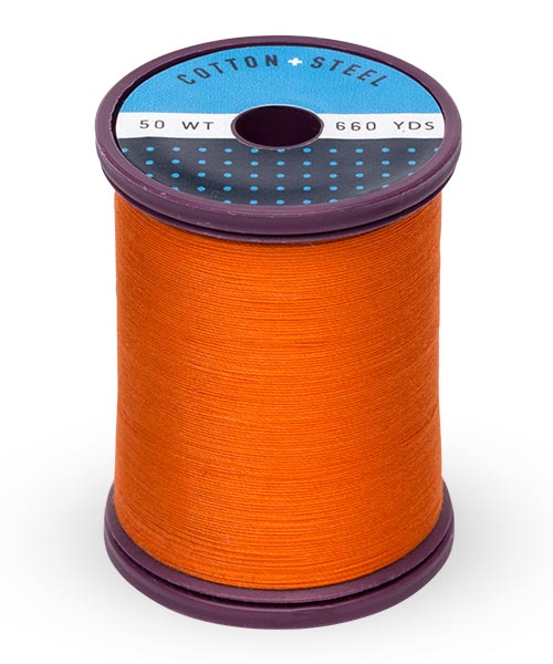 Cotton + Steel 50wt Thread by Sulky - Orange Red