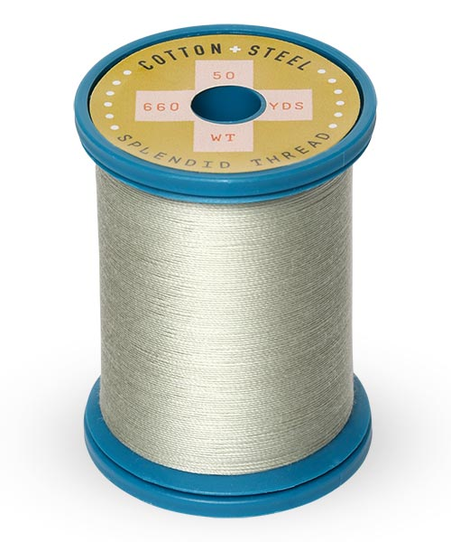 Cotton + Steel 50wt Thread by Sulky - Light Putty