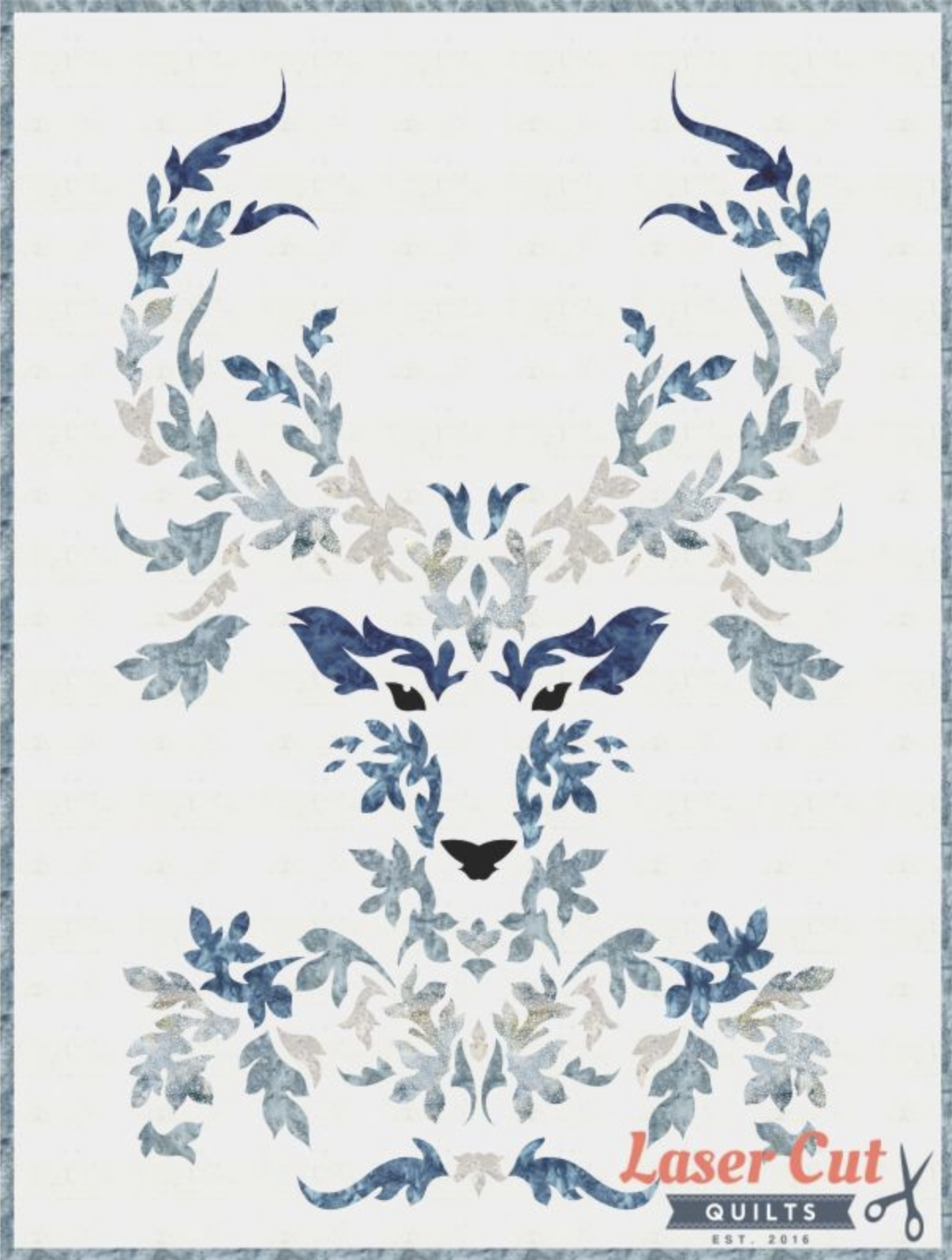 The Stag Quilt Kit (Winter) - 30