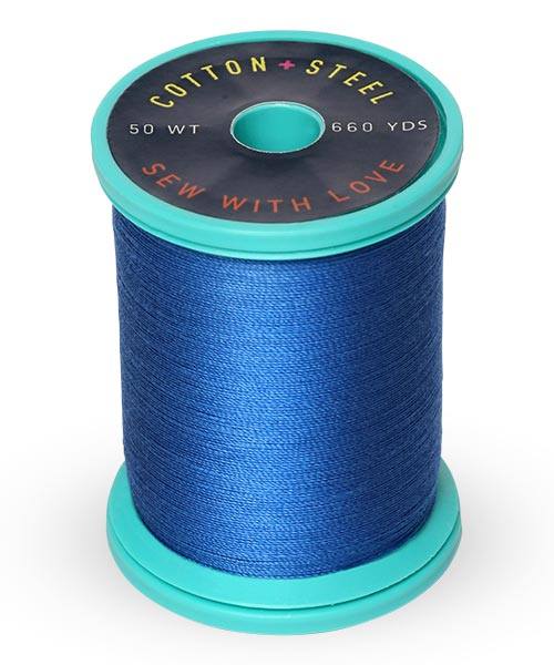 Cotton + Steel 50wt Thread by Sulky - Dark Sapphire