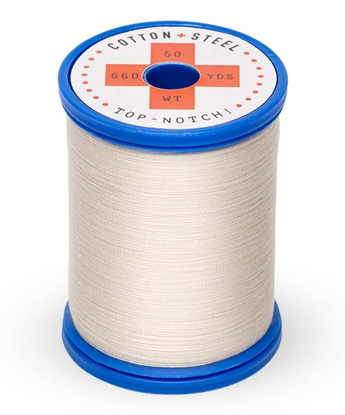 Cotton + Steel 50wt Thread by Sulky - Ecru