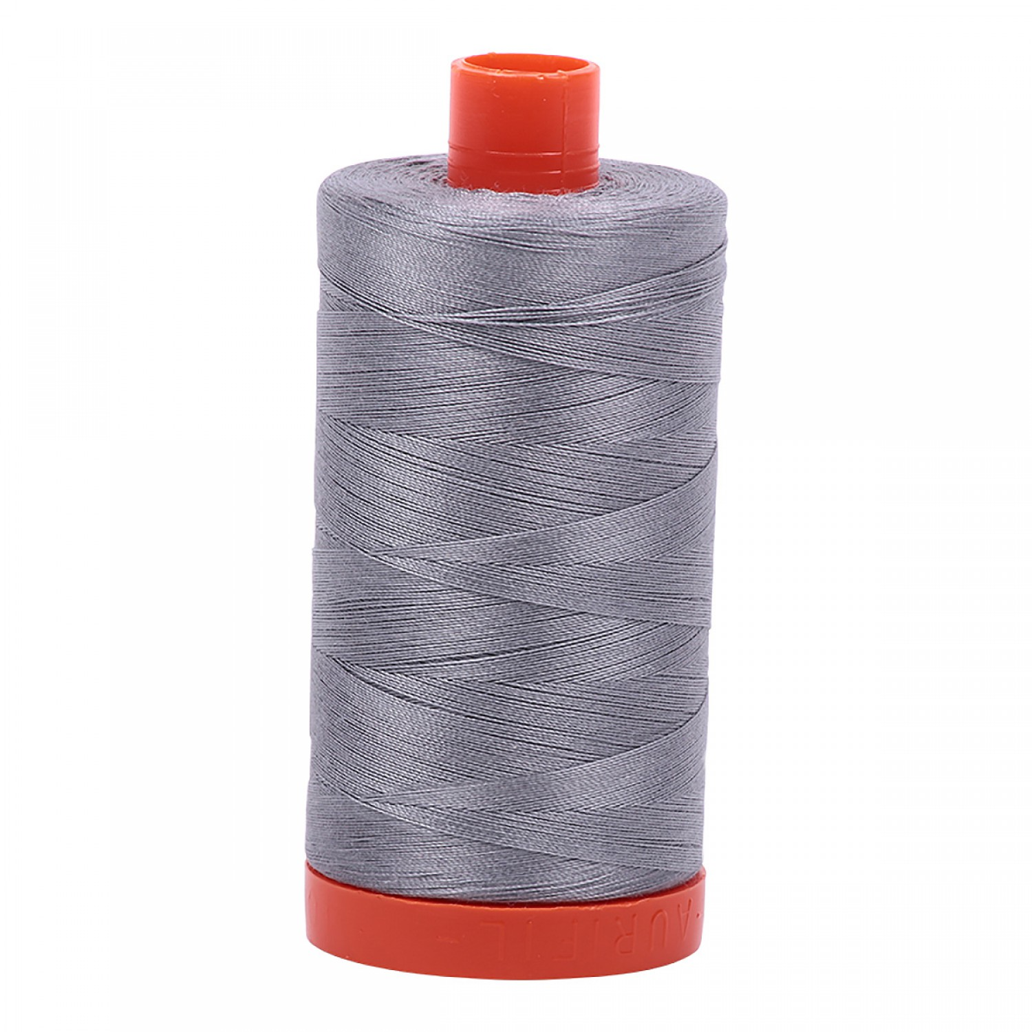 Aurifil Mako 50 wt Cotton Thread - 1422 yds - Grey (2605)