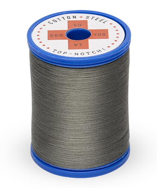 Cotton + Steel 50wt Thread by Sulky - Charcoal Gray