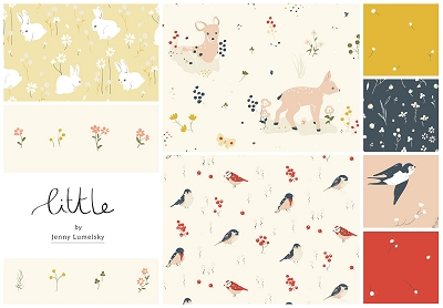 Little by Birch Fabrics Fat Quarter Bundle - 8 SKUs