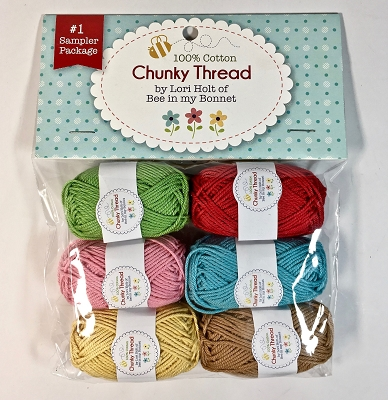 Lori Holt Chunky Thread Sampler Package #1 from Riley Blake