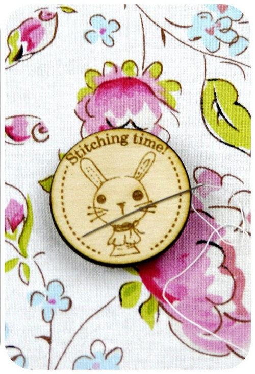 Bunny Magnetic Needle Minder - Designed by Selina Hudson