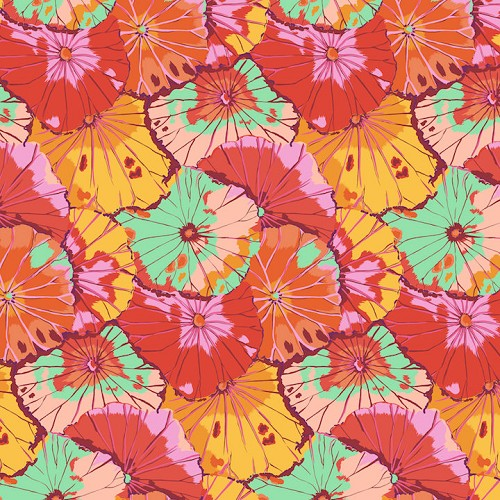 Lotus Leaf - Citrus by Kaffe Fassett