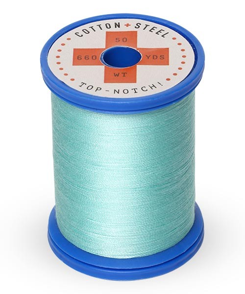 Cotton + Steel 50wt Thread by Sulky - Light Teal