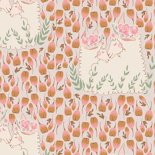 Lambkin - My Darlings - Art Gallery Fabrics