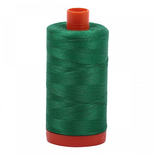 Aurifil Mako 50 wt Cotton Thread - 1422 yds - Green (2870)