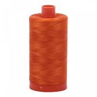 Aurifil Mako 50 wt Cotton Thread - 1422 yds - Orange (2235)