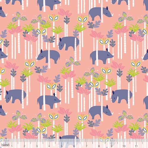 Sundaland Jungle - Rhinos Pink