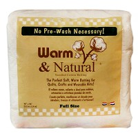 Warm & Natural Cotton Batting - Full Size - 90