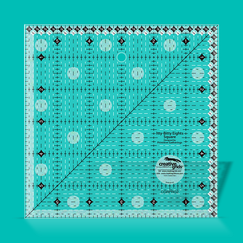 "Creative Grids Itty Bitty Eights 6"" Square Quilting Ruler"