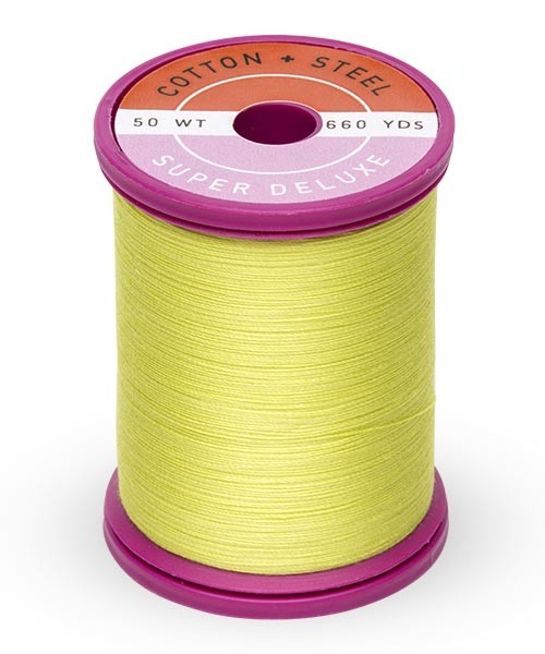 Cotton + Steel 50wt Thread by Sulky - Neon Yellow