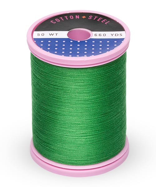Cotton + Steel 50wt Thread by Sulky - Christmas Green