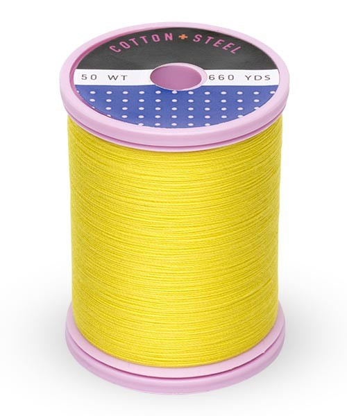 Cotton + Steel 50wt Thread by Sulky - Mimosa Yellow