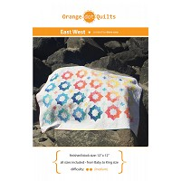 East West Quilt Pattern from Orange Dot Quilts