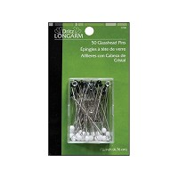 Glasshead 1-7/8 inch Leader Pins by Dritz - 50ct