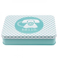 Bee in My Bonnet Sewing Tin - AQUA