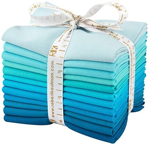 Kona Cotton Solids Fat Quarter Bundle - Pool Party