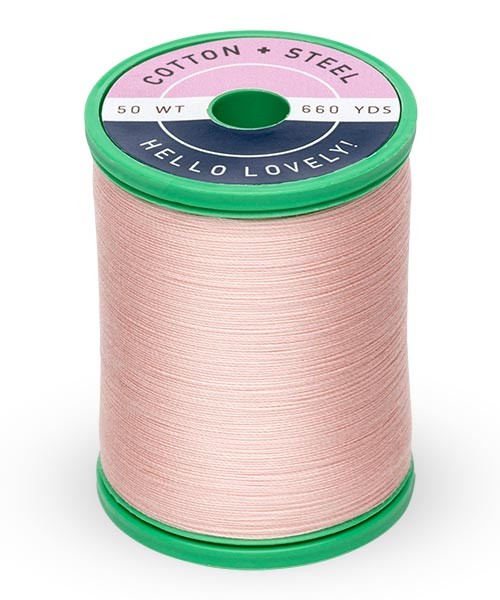 Cotton + Steel 50wt Thread by Sulky - Medium Peach